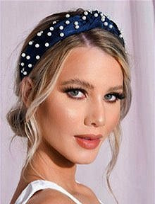 Pearl Topknot Headband