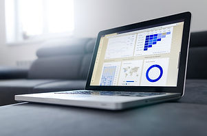 Computer analysing data