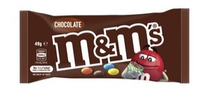 m&m snack pack 50g