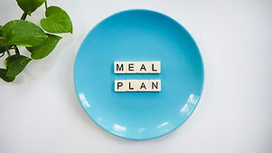 Meal Plan plate