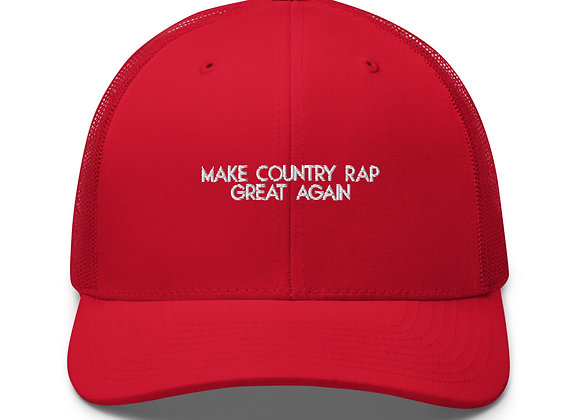 "Shotgun Shane ""Make Country Rap Great Again"" Trucker Cap"