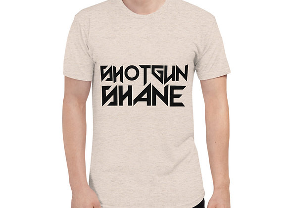 Unisex Tri-Blend Track Shirt Shotgun Shane Universe X Edition
