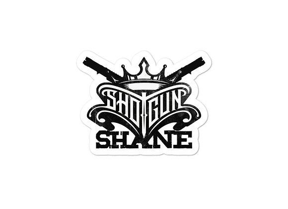 Shotgun Shane Sticker Guns n Crown