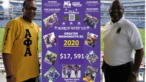 Zeta Upsilon Lambda Setting Records for the March for Babies Campaign