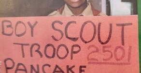 Troop 2501 Pancake Breakfast Fundraiser