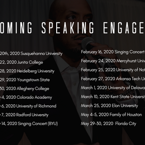 2020 Speaking Engagements