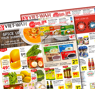 Weekly Sales at Viet-Wah's Seattle, Renton Asian grocery market store locations