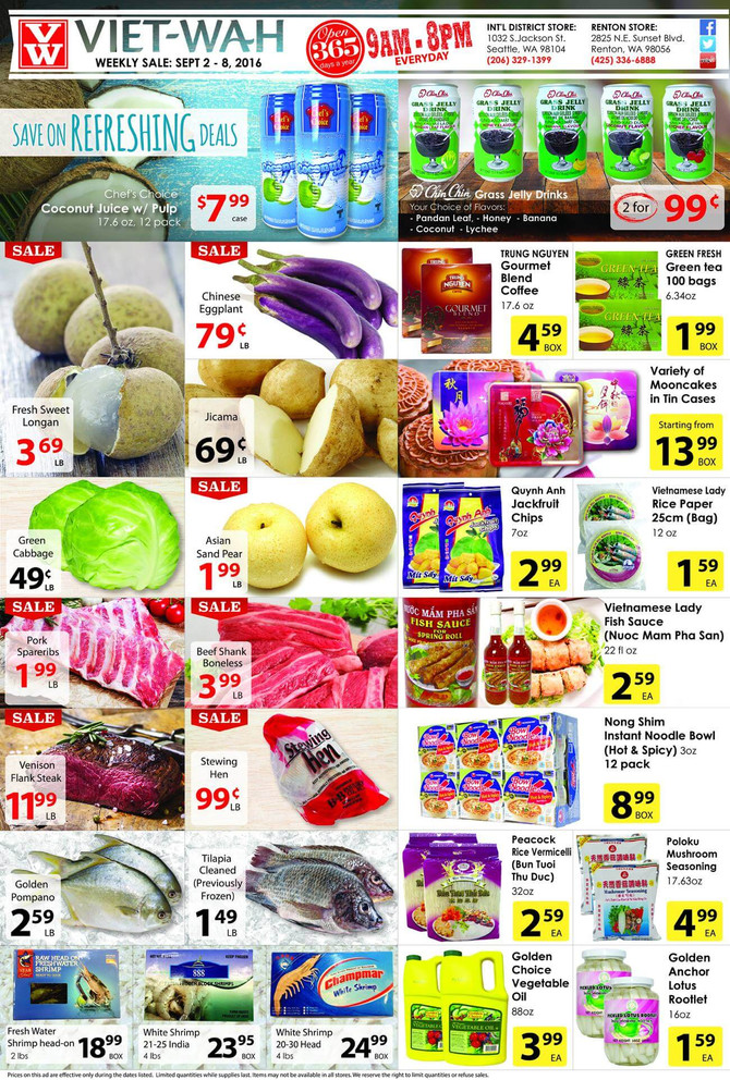 Weekly Ad (Sept. 2 - 8, 2016)