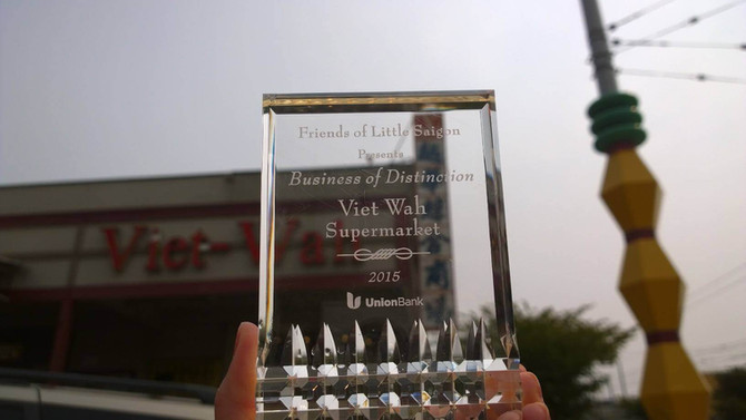Viet-Wah Receives Business of Distinction Award