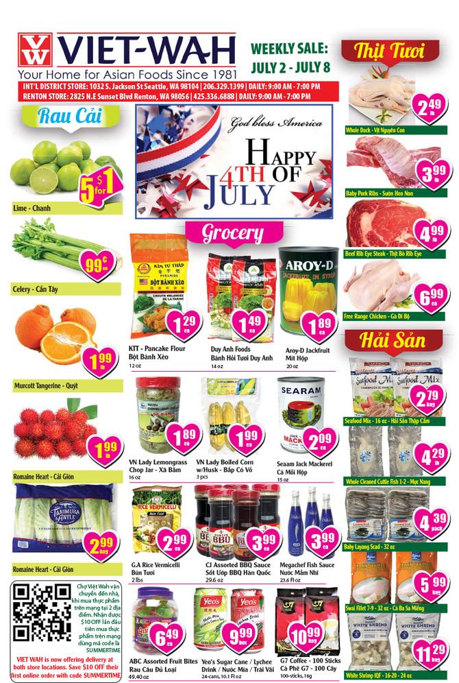 Weekly Ad (July 2-8, 2021)