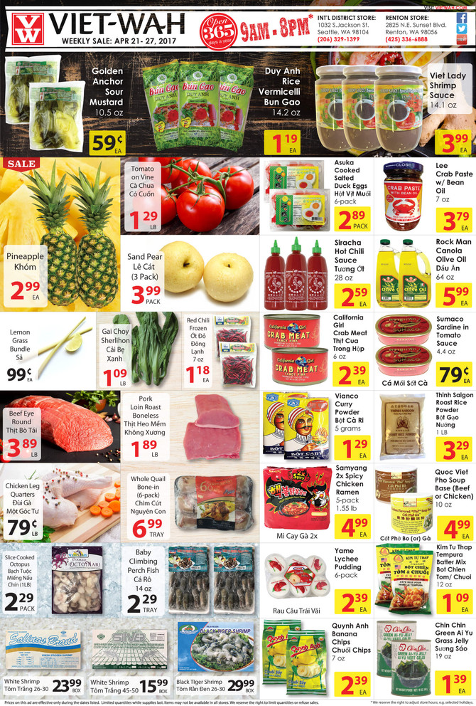 Weekly Ad (April 21-27, 2017)