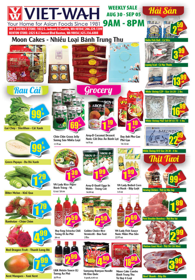 Weekly Ad (Aug 30 - Sept 5, 2019)