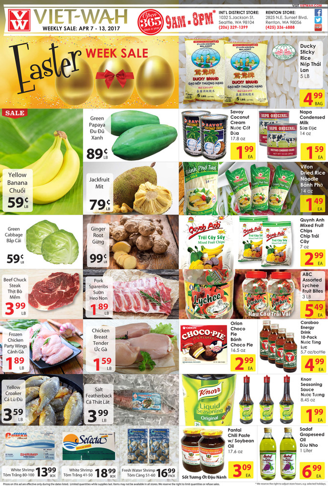 Weekly Ad (April 7-13, 2017)