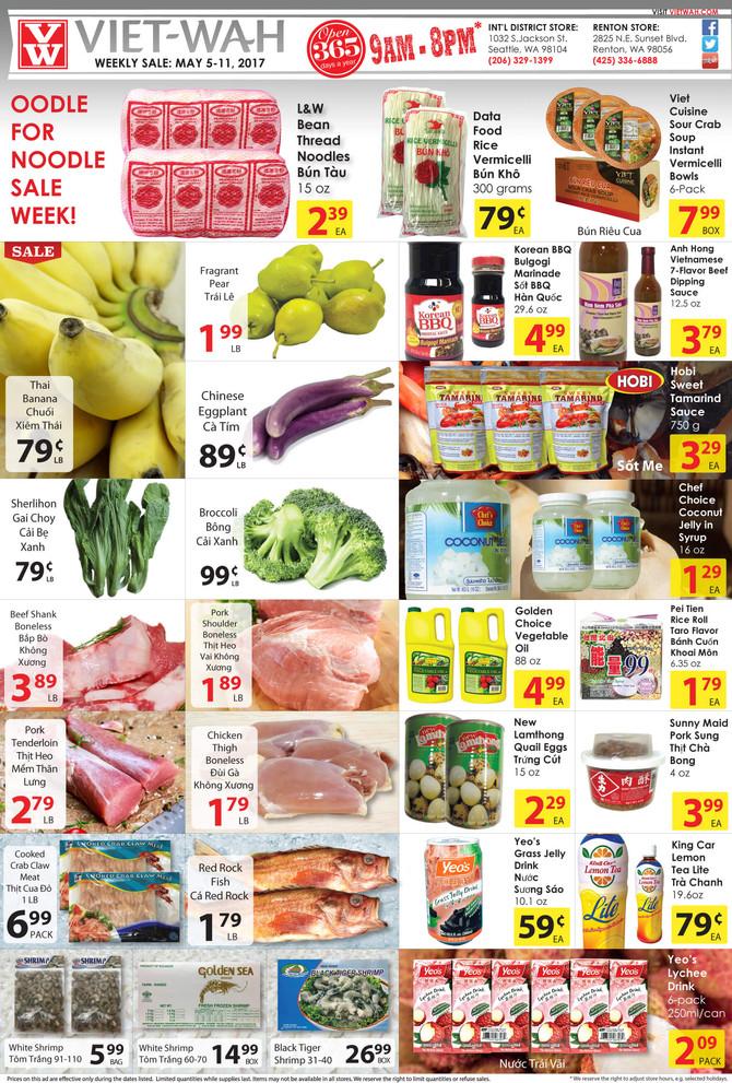 Weekly Ad (May 5-11, 2017)