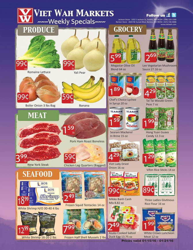 Weekly Ad Jan 15-21, 2016