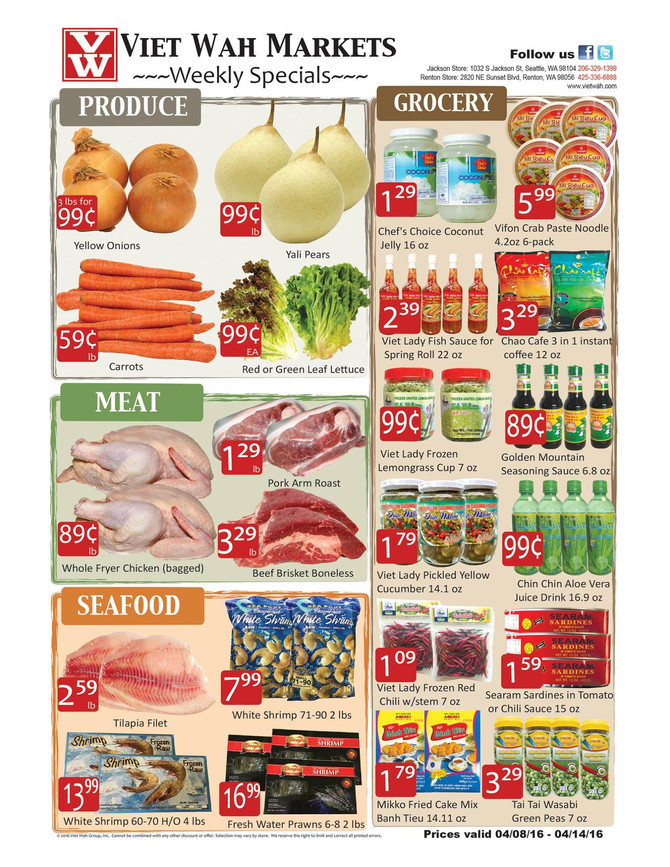 Weekly Ad April 8-14, 2016