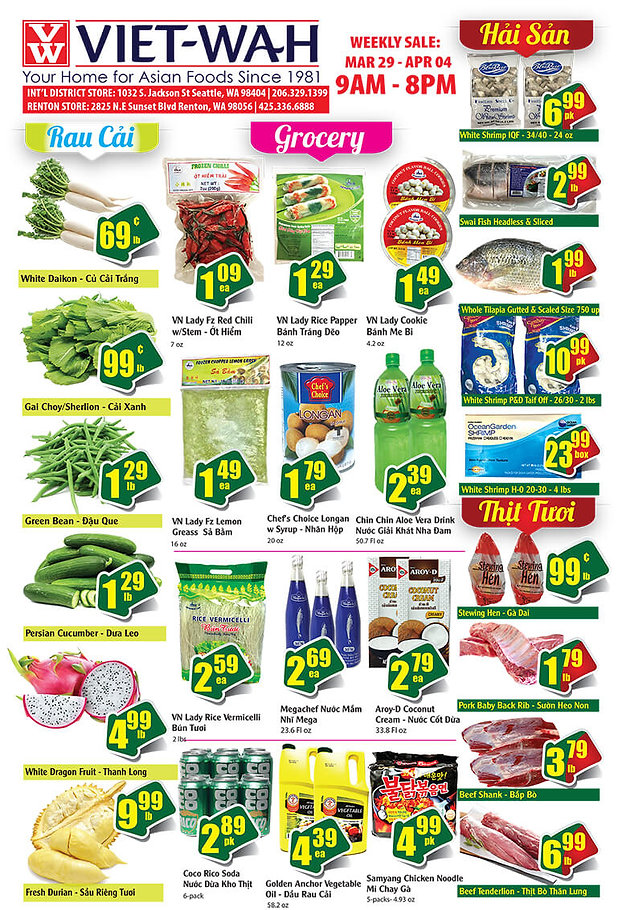 Weekly Ad (March 29 - April 4, 2019) | Asian Food Market
