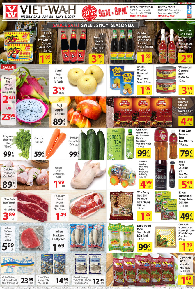 Weekly Ad (April 28 - May 4, 2017)