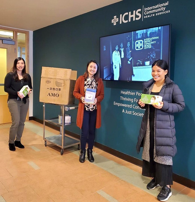 Viet-Wah Supermarket Donated Masks to ICHS