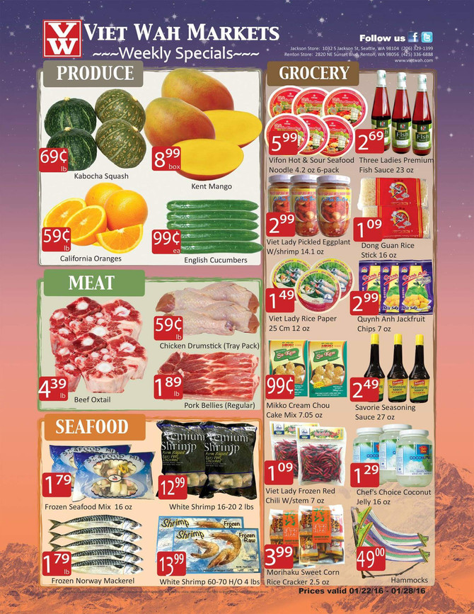 Weekly Ad Jan 22-28, 2016