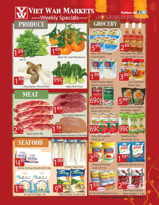 Weekly Ad Feb 5-11, 2016