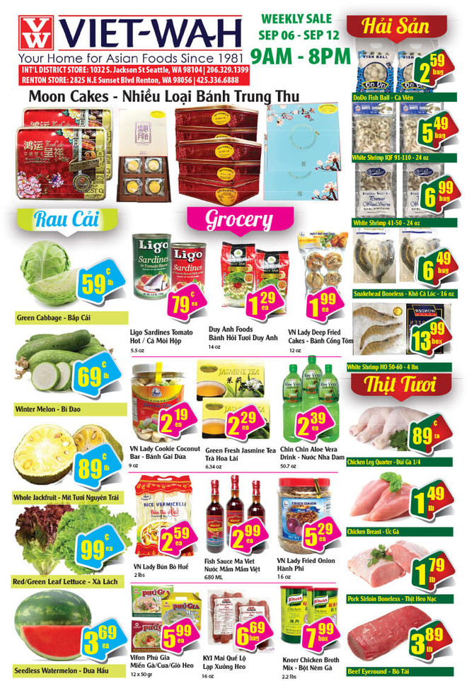 Weekly Ad (Sept. 6-12, 2019)