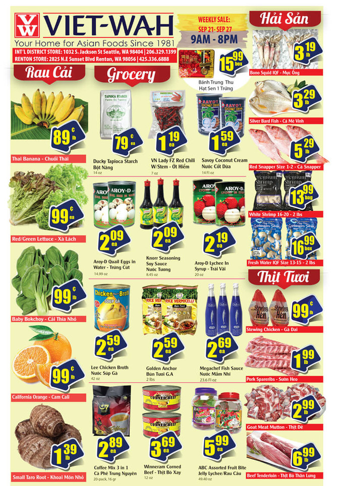 Weekly Ad (Sept. 21-27, 2018)