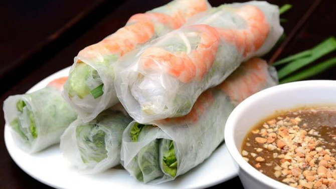 "Spring Roll ""Goi Cuon"" Cooking Demo on Sunday 11:45am"