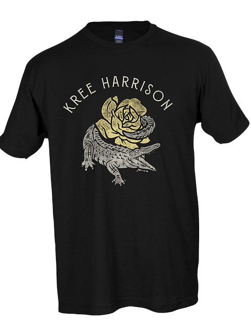 Kree Harrison Alligator Yellow Rose Tee