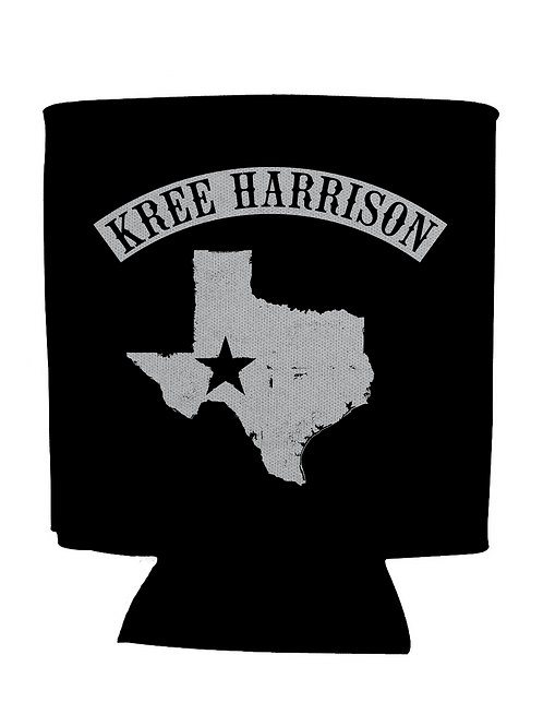 Kree Texas - Black Koozie