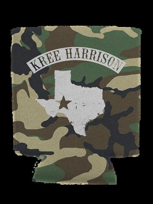 Kree Texas - Camo Koozie