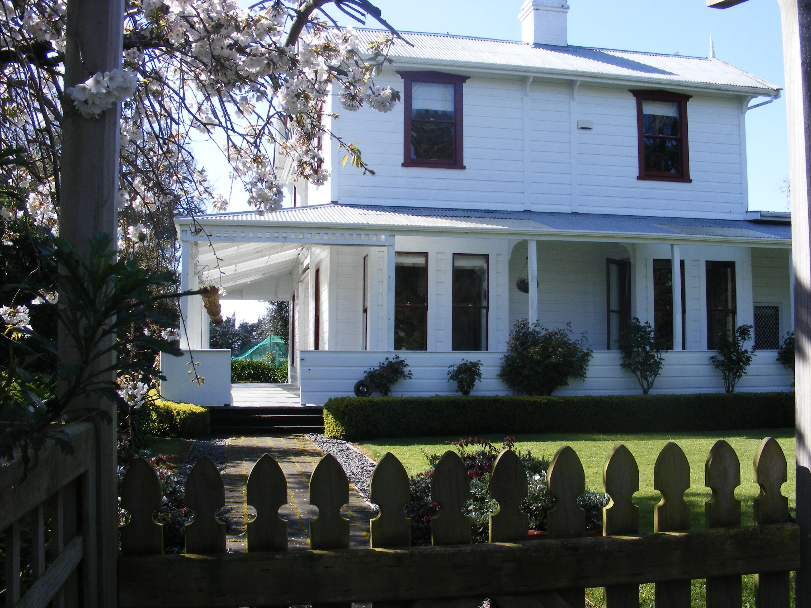 Fordell Homestead: Western elevation