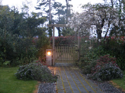 Fordell Homestead: Gate to Carpark