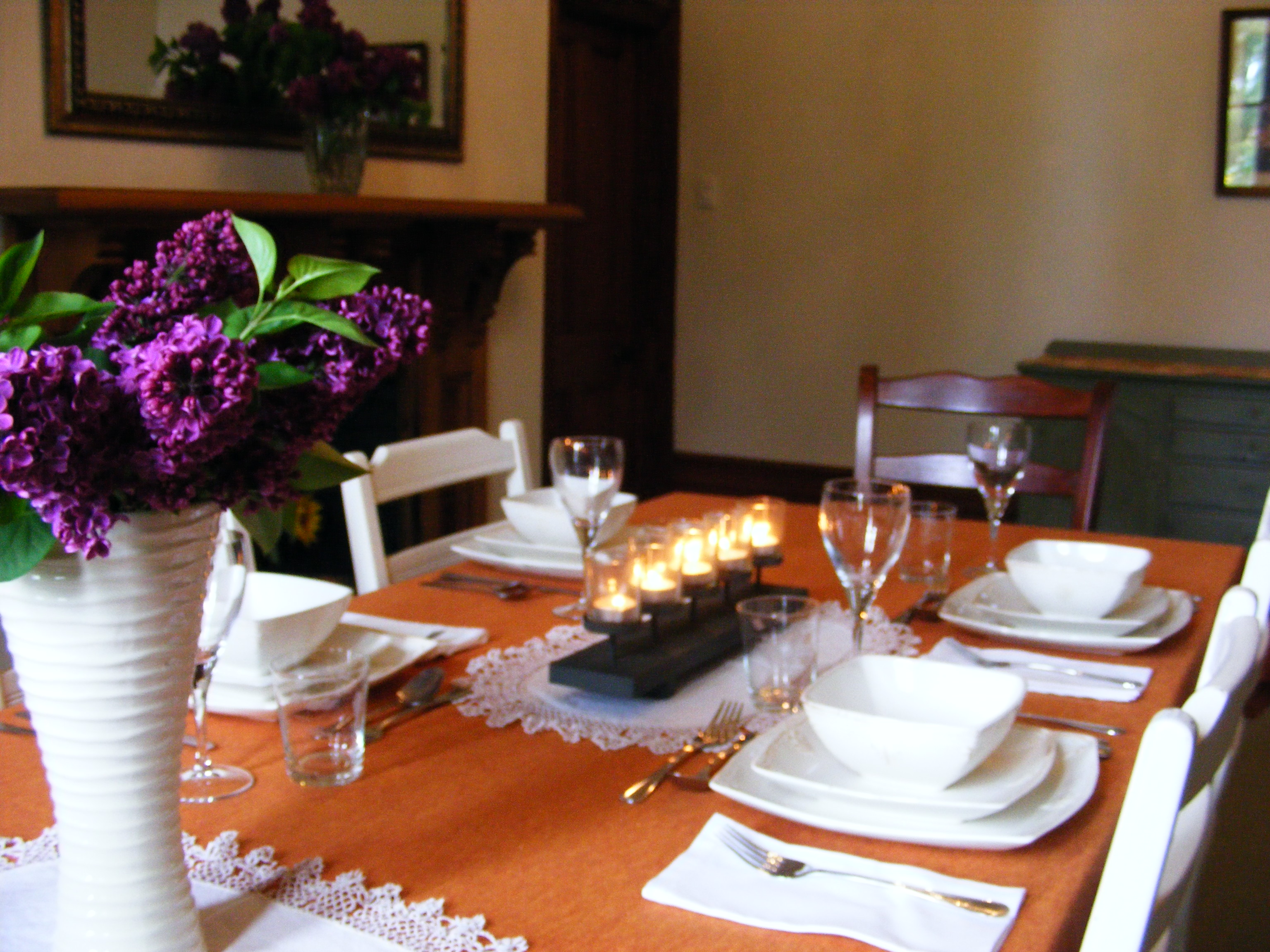 Dining Room Evening