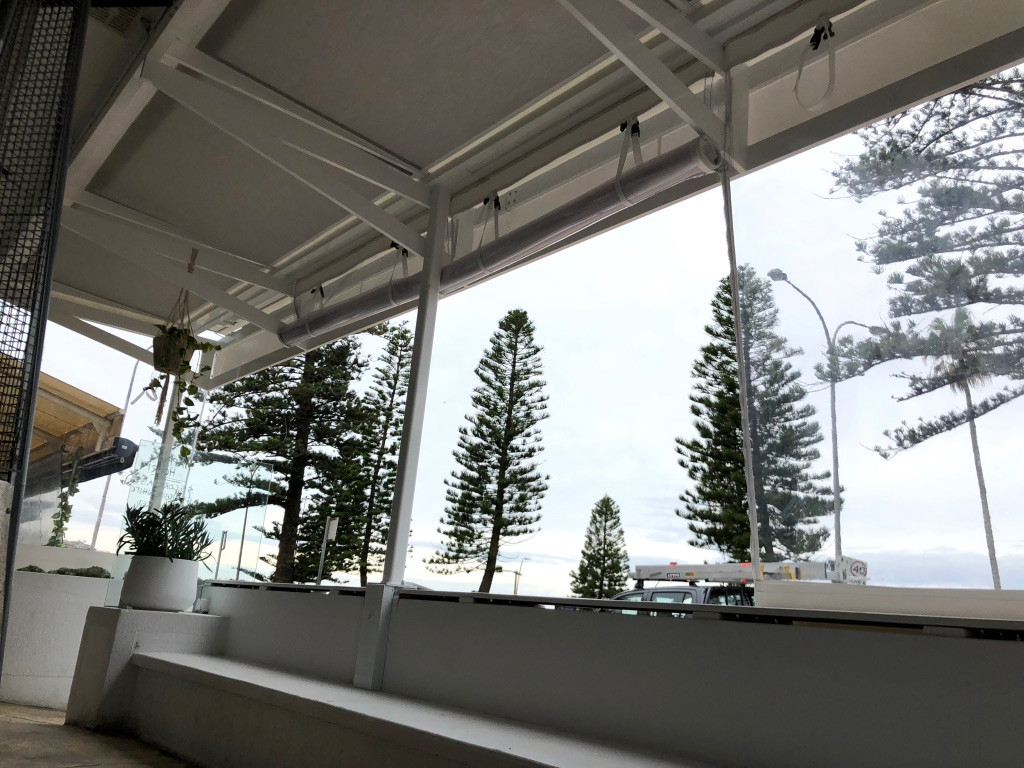 canvas awning- Dee Why NSW