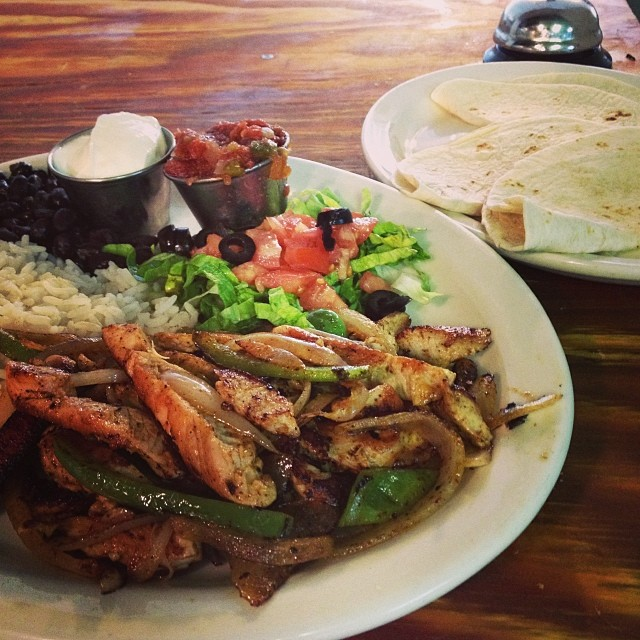 Chicken Fajitas from Mexican Weekend