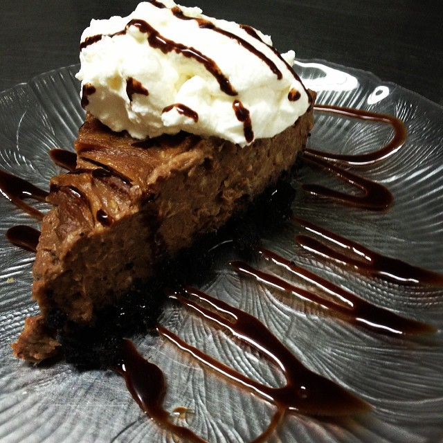 Mom's Chocolate Peanut Butter Cream Pie