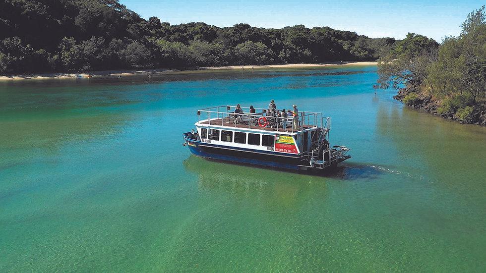 Byron-Bay-Eco-Cruises-river-boat-Jasmine