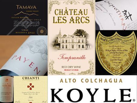 La etiqueta, carta de presentación del vino