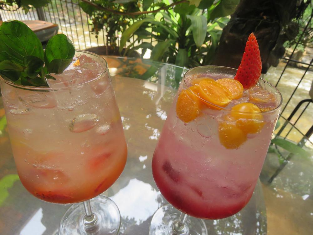 Mocktails en Gastroteca: Passion Fruit y Luna Roja