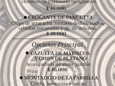 Celebremos el 20 de julio con un menú muy colombiano