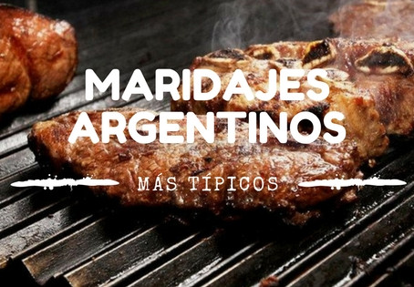 Maridajes argentinos más típicos