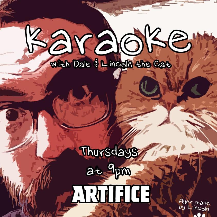 Karaoke at Artifice - Thursday Nights