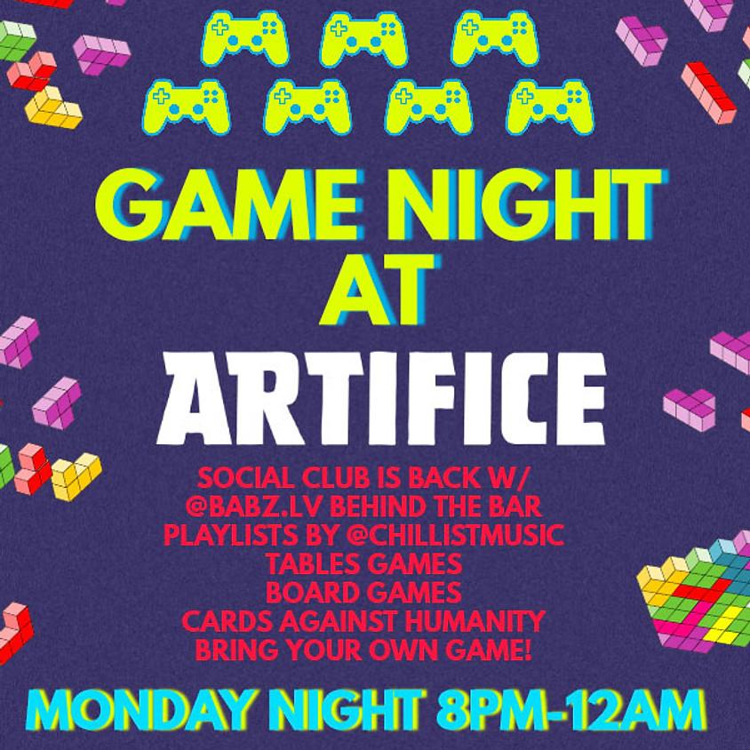 Game Night at Artifice!