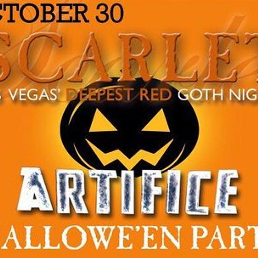 Scarlet Goth Night HALLOWEEN PARTY!