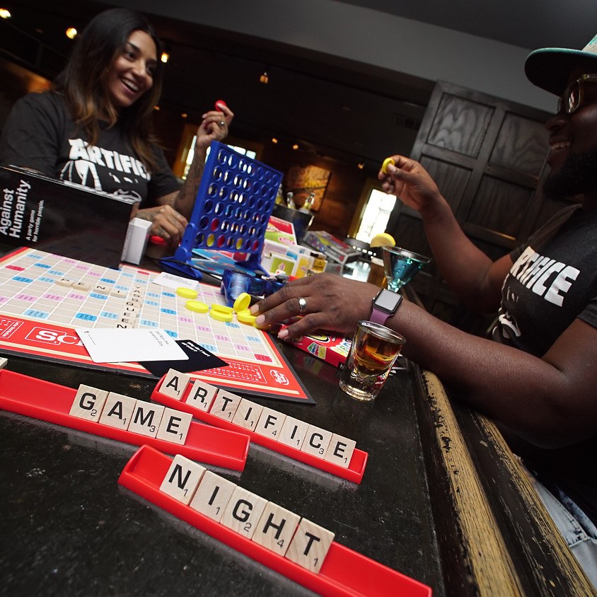 Game Night! Social Club Presents Game Night at Artifice!