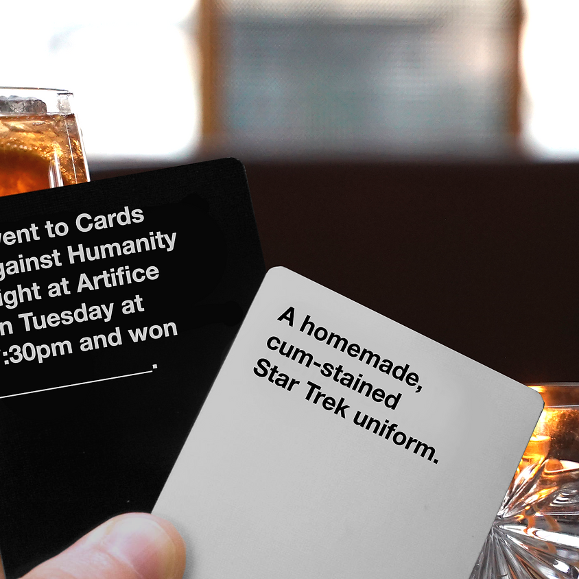 Cards Against Humanity Night at Artifice!