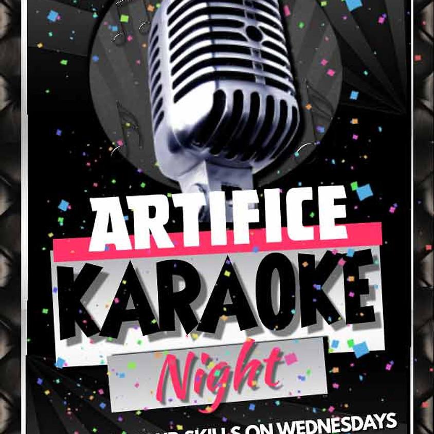 Artifice Karaoke! Wednesdays at 10pm!