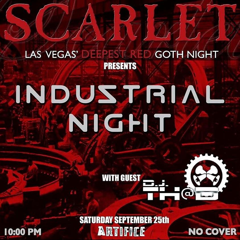 Scarlet Goth Night (Industrial Night!)