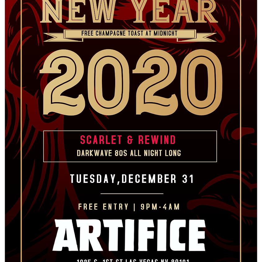 NYE 2020 at Artifice: Scarlet & Rewind